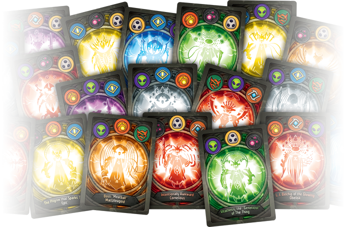 Keyforge Procedurally Generated Back