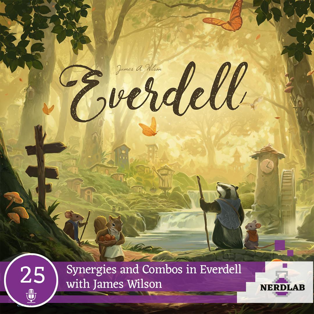 Nerdlab Podcast Episode 25 - Everdell Interview