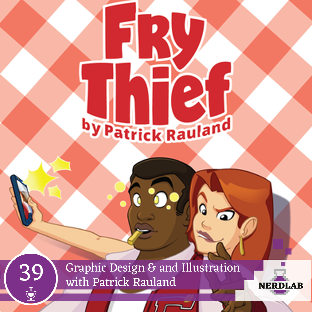 Nerdlab Podcast Episode 39 - Grpahic Design and Illustration