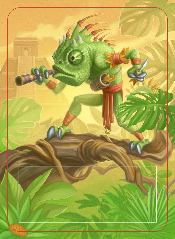 Mindbug Card - Chameleon